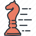 business, chess, leader, marketing, planning, startup, success icon
