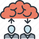 business, cloud computing, data, innovation, solution, success, workflow icon