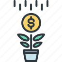 business, finance, grown up, investment, marketing, money, success icon
