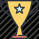 award, business, development, goal, marketing, success, trophy icon