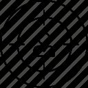 goal, target, user icon