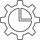 chart, configure, graph icon