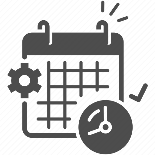 calander, date, day, month, plan, time table icon