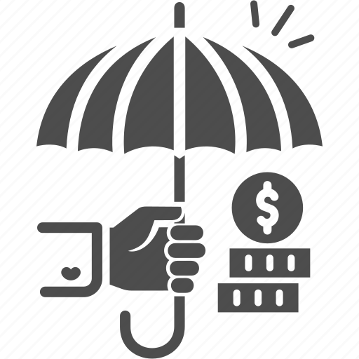 finance, funds, funds protection, insurance, investment icon