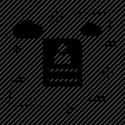 cv  portfolio  resume icon