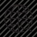 earth, find, globe, location, search, web, world