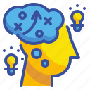brainstorm, creativity, idea, interface, thinking icon