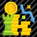 commerce, cost, decrease, finance, money, reduction