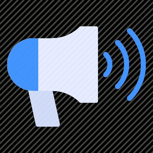 finance, marketing, megaphone icon