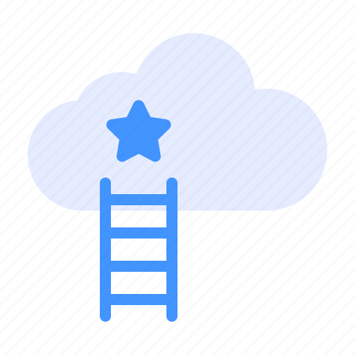 cloud, finance, potential icon