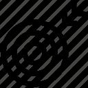 marketing, sport, target icon, • arrow icon