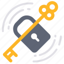 business, key, lock, login, problem solved, support, unlock icon