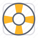 buoy, business, customer services, float, help, life buoy, support icon
