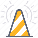 maintenance, pylons, road cones, safety cones, service, traffic cone, warning icon