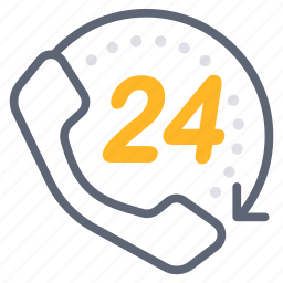call, call center, customer services, full time, hotline, service, support icon