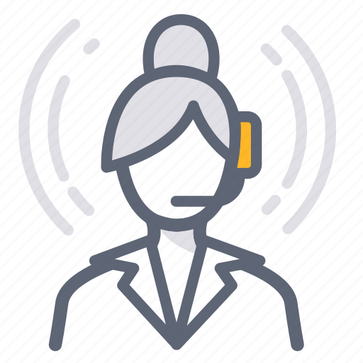 assistant, business, call center, help, operator, services, support icon