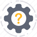 business, cog, config, gear, settings, support, technical support icon
