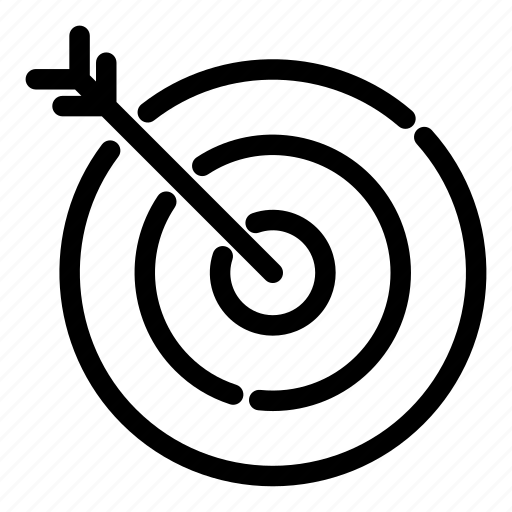business, marketing, target audience, target group, target marketing, target users, teamwork icon