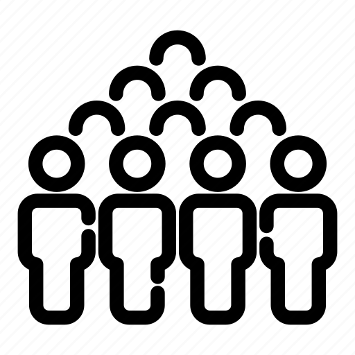 business group, community, leader, people, teamwork, user group people group icon
