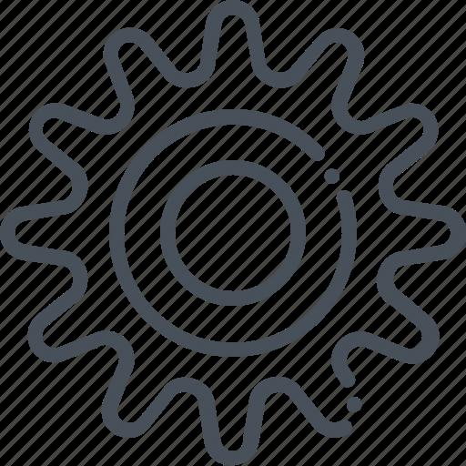 cogwheel, gear, options, settings, setup, tool icon