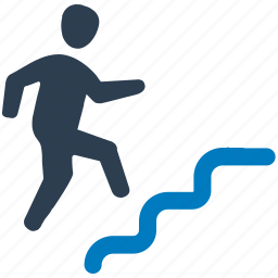 aim, business, business success, career, running, target, vision icon