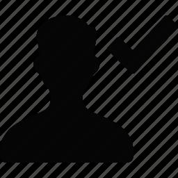 user, valid icon