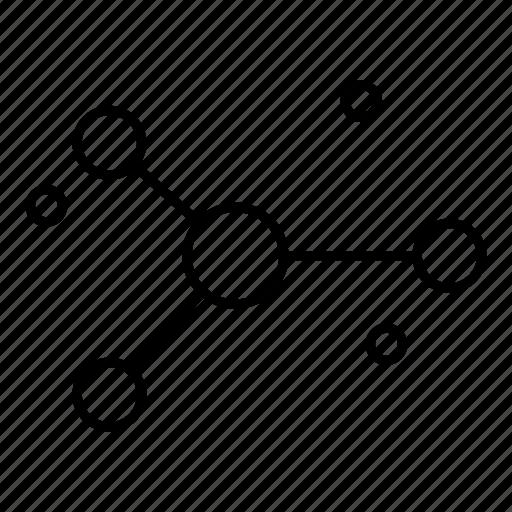 atom, management, organization, space icon