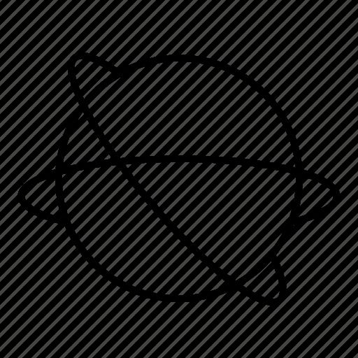 atom, planet, space, universe icon