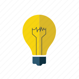 art, bulb, creative, idea, knowledge, light, thinking icon
