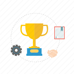 award, deal, idea, milestone, mission, promotion, trophe icon