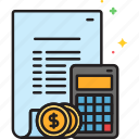 accounting, budget, budgeting, calculator, finance, financial icon