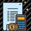 accounting, budget, calculator, finance