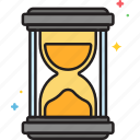deadline, hour, hourglass, time icon