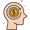 cost, employee, employee cost icon