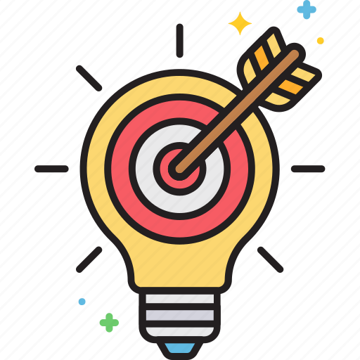 idea, light bulb, marketing, marketing idea icon