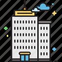 apartment, building, condo, condominium, office, office building, soho icon