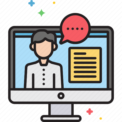 Consulting, online icon - Download on Iconfinder