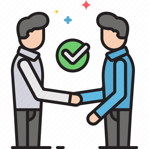 agreement, collaboration, cooperation, deal, handshake, introduction, partnership icon