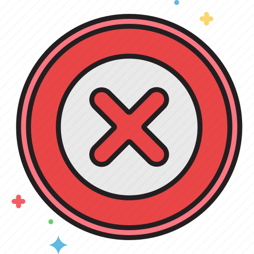 cancel, cross, no, rejected, x icon