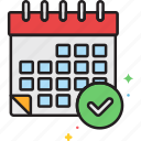 appointment, booking, calendar, event, plan, schedule icon