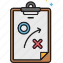 action plan, plan, strategic, strategy icon