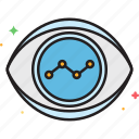 forecast, prediction, trend, vision icon