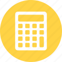 caculate, calculator, mathematics icon