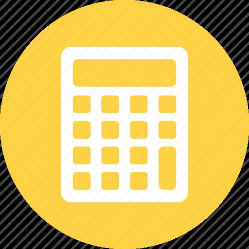 caculate, calculator, mathematics icon