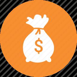 bag, dollar, finance, investment, money icon