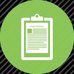 list, notepad icon