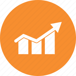 growth, increase, up icon