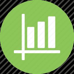 bar, bar graph, chart icon