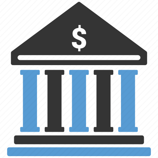 bank, finance, financial, institution, investment icon