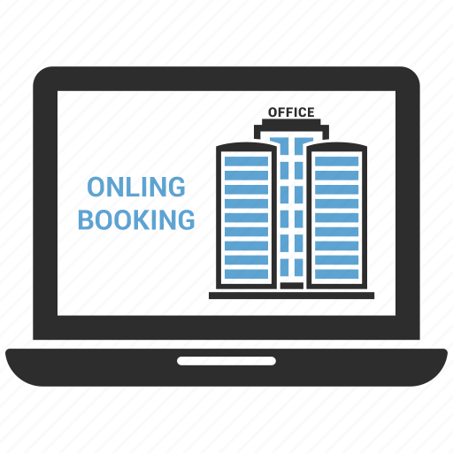 apple, computer, device, hotel, laptop, macbook, online booking icon